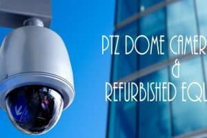 PTZ camera ( Pan-Tilt-Zoom )