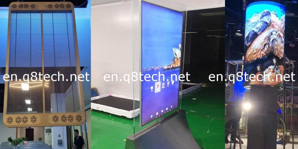 Display Screens Rental in Kuwait led oled lcd