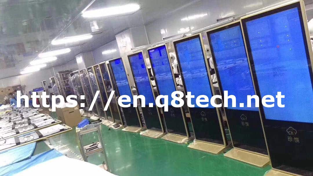 LCD display screens indoor and outdoor