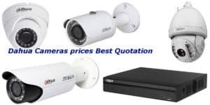 Dahua Cameras prices