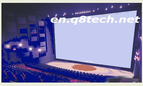 Projection screen Types